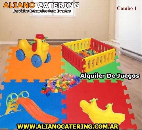 alquiler plaza blanda y metegol juegos cumpleaños infantiles