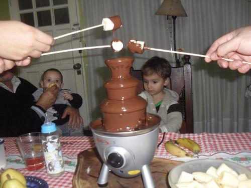 alquiler pochocleras copos azucar cascada fondue chocolate