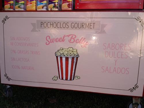 alquiler pochoclos gourmet saborizados salados y dulces