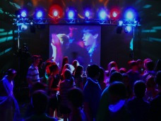 alquiler proyector & pantalla gigante de 100pulgadas