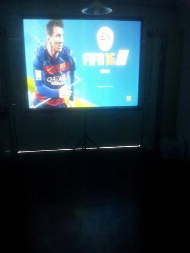 alquiler proyector pantalla luces sonido karaoke dj
