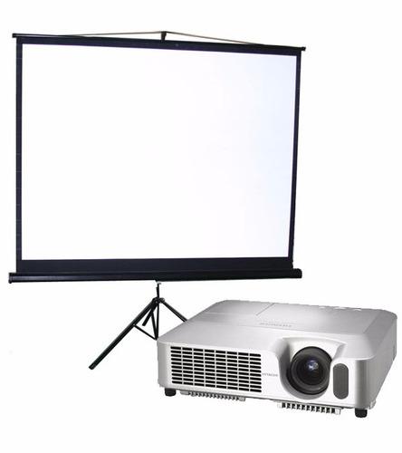 alquiler proyector y pantalla gigante | zona oeste | oferta