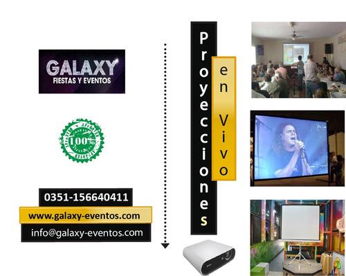 alquiler proyectores -pantallas led -tv smart en córdoba