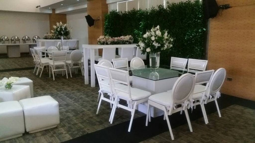 alquiler puffs mesas cocteleras, cavas, mobiliario palet