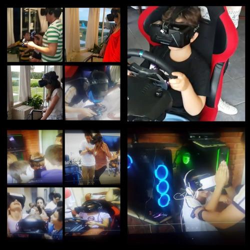 alquiler realidad virtual para cumpleaños, fiestas y eventos