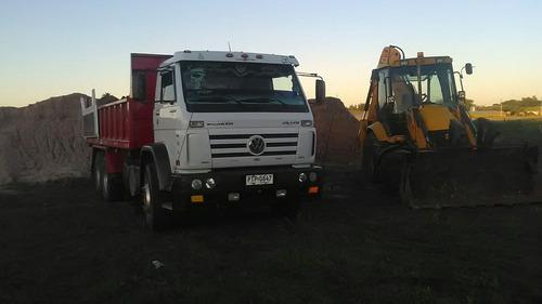 alquiler retro, demoliciones, excavacion,camion volcadora et