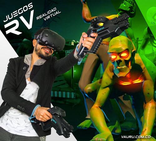 alquiler rv :: gafas de realidad virtual + pc gamer