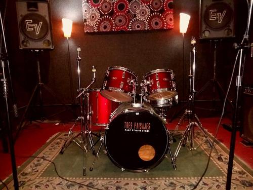alquiler sala de ensayo/estudio de grabación en caballito