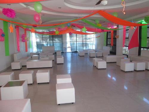 alquiler salas lounge para eventos familiares y empresariale