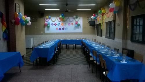 alquiler salón club social avellaneda promo 3 horas $3500