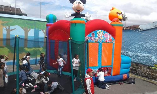 alquiler saltarines inflables trampolines pelotas3133563629