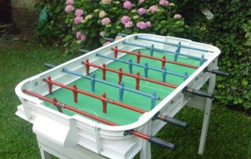 alquiler sapo - pista scalextric - mesa ping pong - metegol