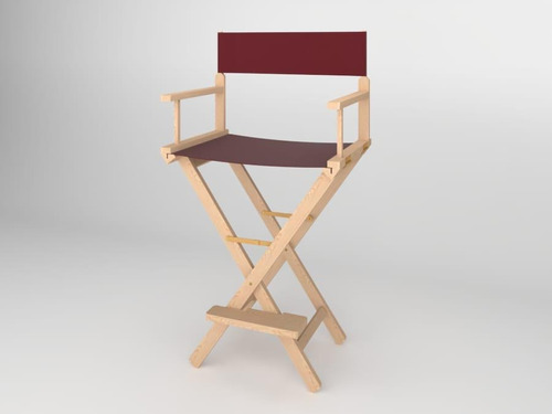 alquiler silla de director maquillaje make up cine profesion