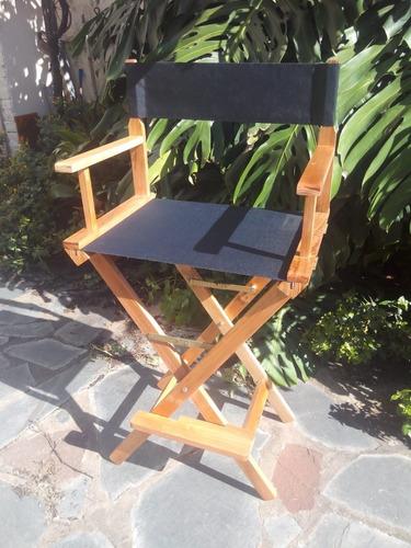 alquiler silla director maquillaje madera cine profesional