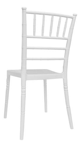 alquiler silla tiffany white plástica eventos fiestas