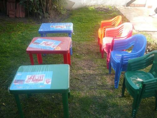 alquiler sillas banquetas mesas plasticas manteles vajilla