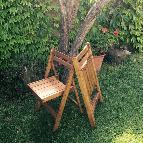 alquiler sillas madera mesas vajilla y livings en zona norte