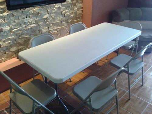 alquiler sillas mesas