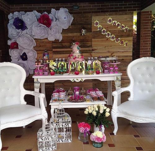 alquiler sillas tiffany plateadas mesas de vidrio iluminadas