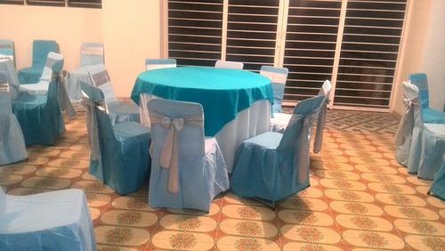 alquiler sillas vestidas tiffany mesas mesones, colchones y