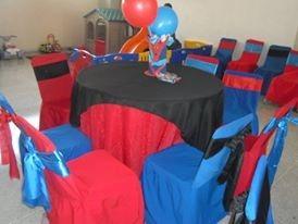 alquiler sillas vestidas tiffanys mesas mesones festejo boda