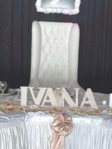 alquiler sillón princesa blanco quinceañera tipo trono