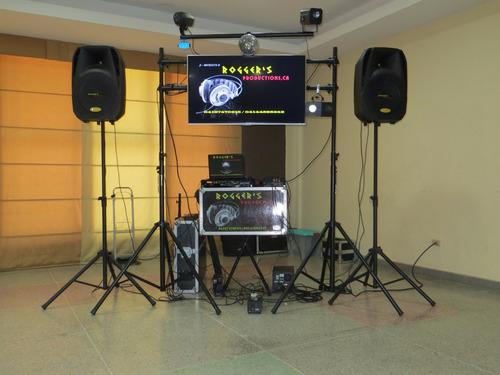 alquiler  sonido, audio visual, fotos, fotografias