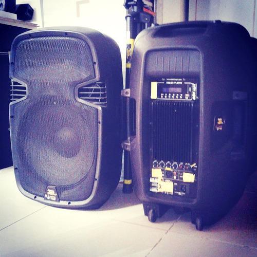alquiler sonido bafle luces bluetooth  karaoke cap fed bs as