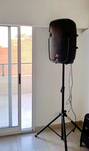 alquiler sonido bafle luces karaoke excelente potencia
