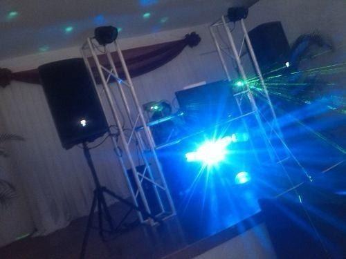 alquiler sonido dj display miniteca karaoke robot led samba