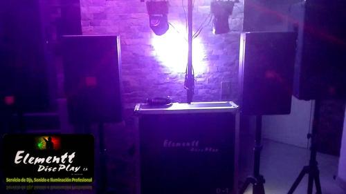 alquiler sonido e iluminación profesional elementt discplay