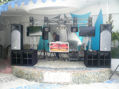 alquiler sonido iluminación profesional discplay miniteca dj