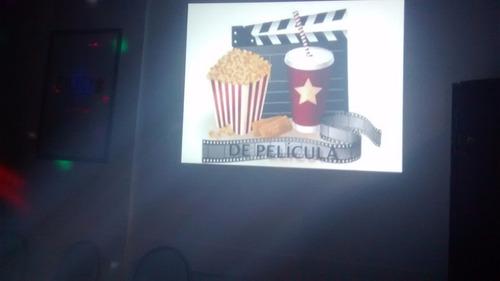 alquiler sonido iluminación proyector pantalla karaoke y más