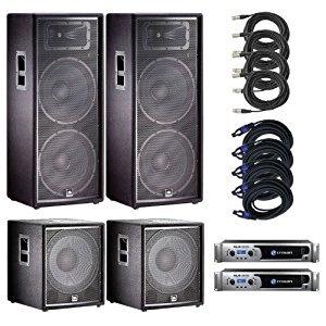 alquiler sonido jbl parlante consola microfono amplificador