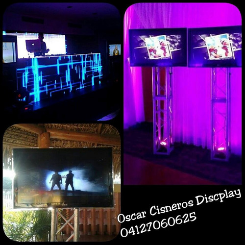alquiler sonido karaoke televisores pantallas miniteca