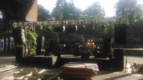 alquiler sonido luces djs fiesta evento profesionales barato