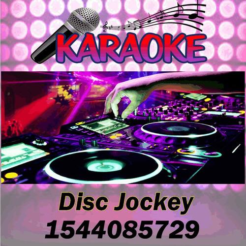 alquiler sonido luces karaoke mini disco disc jockey dj