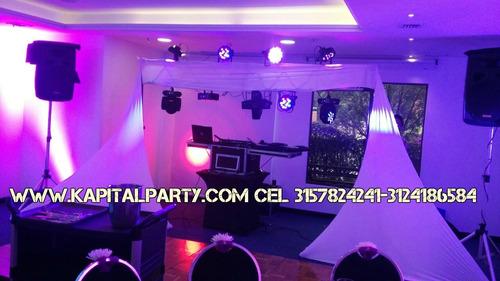 alquiler sonido luces neon bingo video beam karaoke carpas