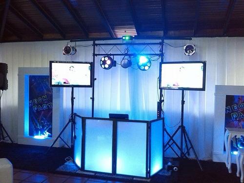 alquiler sonido puerto ordaz iluminacion karaoke video beam