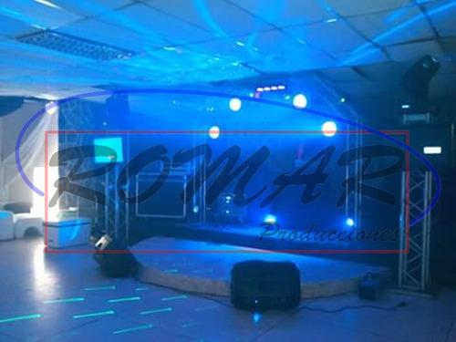 alquiler sonido video iluminación dj musica en vivo miniteca