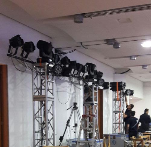 alquiler sonido y iluminación profesional (puesta en escena)