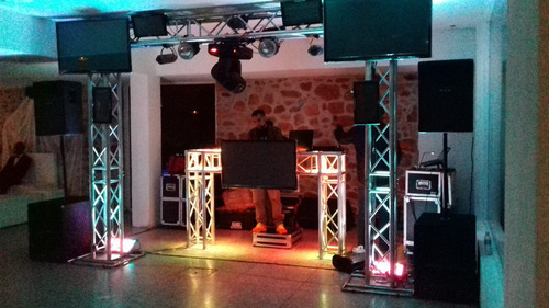 alquiler sonido,pantallas led,pista led,dj,tv 43,luces