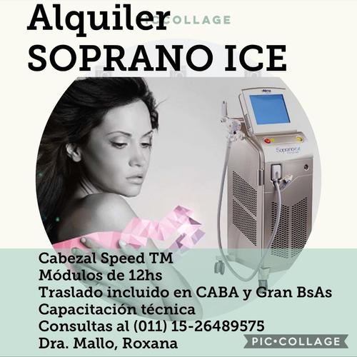 alquiler soprano ice