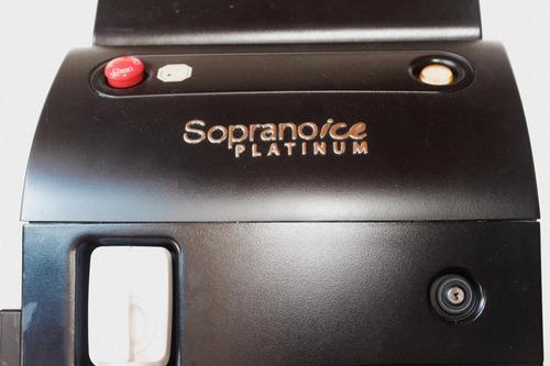alquiler. soprano ice platinum, de alma lasers. original