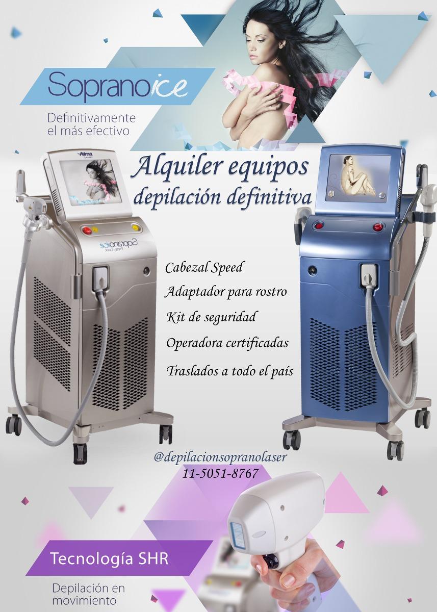 Alquiler Soprano Ice Speed Depilaci 243 N Definitiva L 225 Ser
