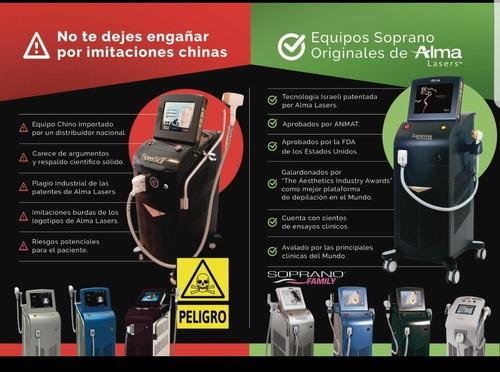 alquiler soprano ice speed y venus legacy laser depilacion
