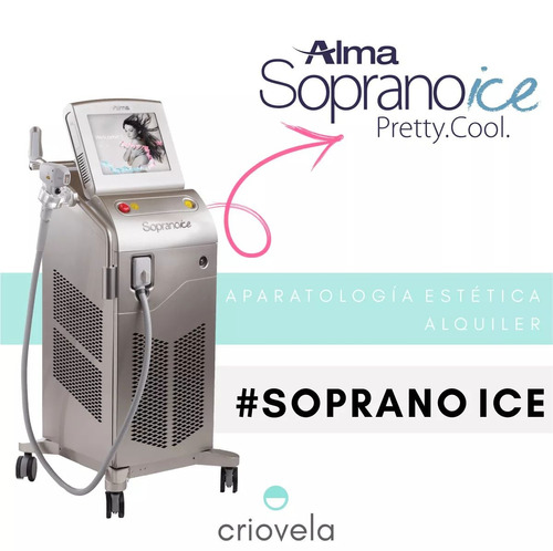 alquiler soprano ice velaslim venus legacy hifu body up pro