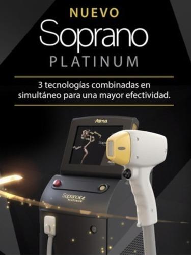 alquiler soprano platinum alma lasers original!!
