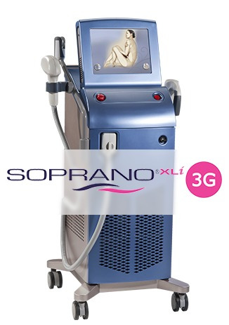 alquiler  soprano xli 3g ice  speed- depilación definitiva