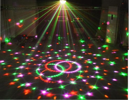 alquiler tachos led humo laser luces led karaoke iluminacion